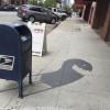 街中で伸びる影を使った可愛らしいアート「Shadow Art Project by Damon Belanger」