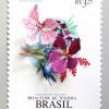 切手をモチーフにした動物のペーパーカットアート「Papercut Bird Postage Stamps by Diana Beltran Herrera」