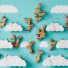 空に自分だけの街をつくる!子どもの創造性を高める良デザインのブロック玩具「スカイビレッジ」