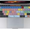 ショートカットキーを教えてくれる、カラフルなMacBook Pro用の最新シリコンカバー「LogicSkin」