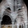 ポリゴングラフィックのような美しさ!ワイヤーメッシュで作られた荘厳なパビリオン