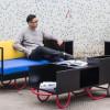 持ち運びが簡単なうえに様々な使い方ができる 12個のポータブル家具シリーズ「pushcarts」