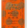 おすすめのデザイン本「NEW RETRO レトロスタイルがあたらしいロゴ&グラフィックス」