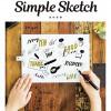 おすすめのデザイン本「万年筆ですぐ描ける!シンプルスケッチ」