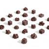 3Dプリンターの技術と昔ながら技術を組み合わせて創られた幾何学的なチョコレート「Chocolates」