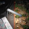 アウトドアや非常用に!折りたたみ式のコンパクトなポータブルライト「MESA」