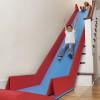 折りたたみ収納できる 階段を利用した室内用滑り台「SlideRider」
