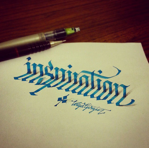 D Line Drawings Quotes : 文字が立体的に浮かびあがる dドローイングアート「 d lettering」 designworks デザインワークス