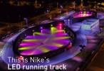 Nike's-LED-running-track