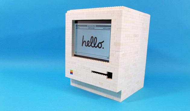 how to make a lego computer